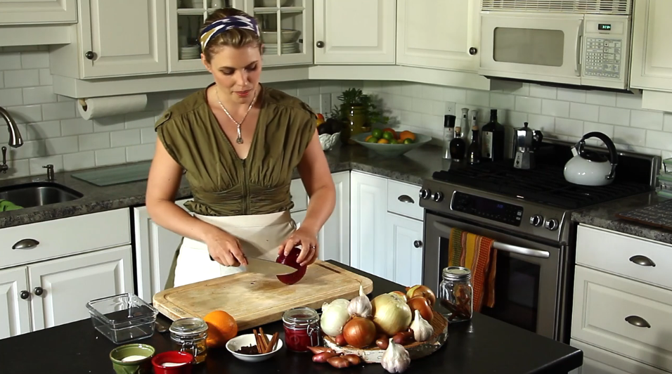Jacalyn Cooking video still shot