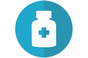 Graphic of pill bottle